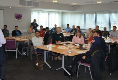 Entrepreneurs attended the first Boost Lean Launchpad Master Class in Blackburn