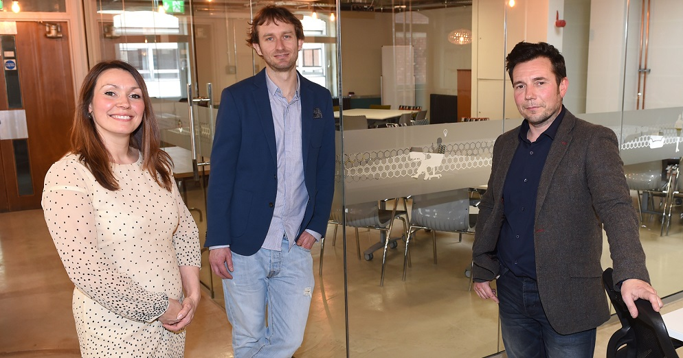 The Management Team at Society1 - Coworking space in Preston