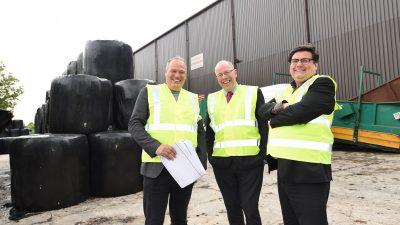 Paul Mellor Envirofuel, Peter Rooney EV & Andy Walker LCC