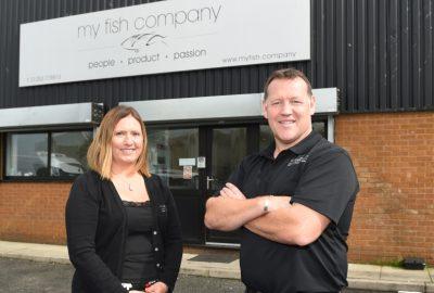 Kim Ashton and Gary Apps of My Fish Company