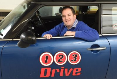 Chris Richards of 123 Driving School