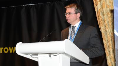 Cllr Michael Green Addresses Growth Summit