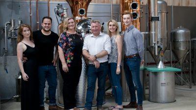 The Brindle Distillery team