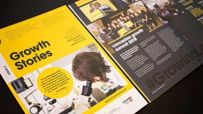 Boost Business Lancashire - Growth Stories issue 4