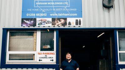 John Fairhurst, MD of Fairham Mouldings