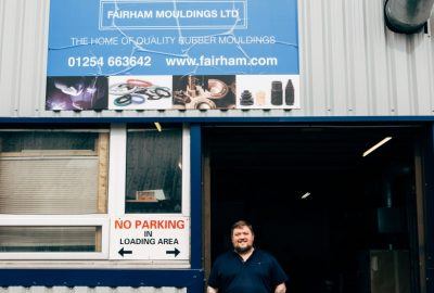 John Fairhurst, MD of Fairham Mouldings
