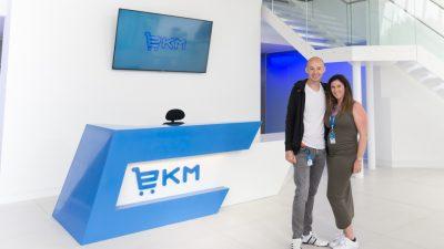Antony and Alison Chesworth, EKM