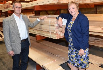 Longridge Timber - Directors John and Sue Cornthwaite