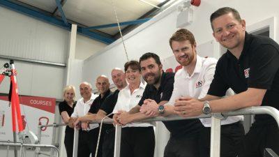 The team at Reax, Blackpool