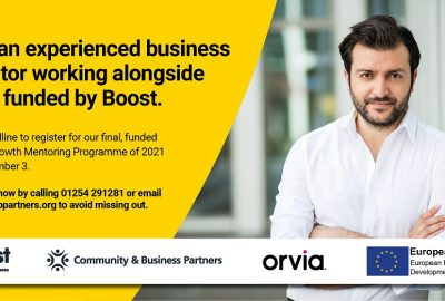 Business leaders urged not to miss out on Boost's Mentoring support in 2021